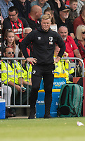 Bournemouth manager Eddie Howe  <br /> <br /> Photographer David Horton/CameraSport<br /> <br /> The Premier League - Bournemouth v Sheffield United - Saturday 10th August 2019 - Vitality Stadium - Bournemouth<br /> <br /> World Copyright © 2019 CameraSport. All rights reserved. 43 Linden Ave. Countesthorpe. Leicester. England. LE8 5PG - Tel: +44 (0) 116 277 4147 - admin@camerasport.com - www.camerasport.com