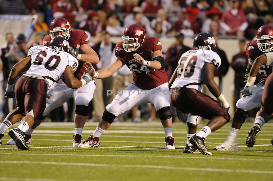 Travis Swanson(64) / Arkansas Razorbacks