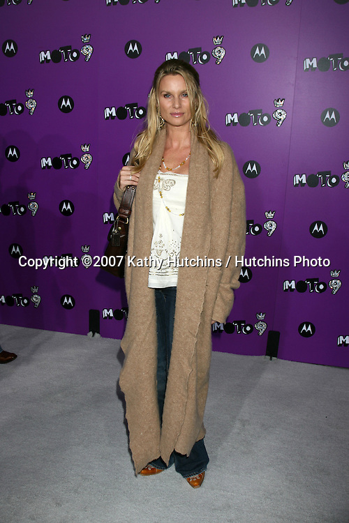 "Nicollette Sheridan.Motorola 9 Party.""The Lot"".Los Angeles,  CA.November 8, 2007.©2007 Kathy Hutchins / Hutchins Photo...               ."