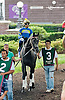 Bryan's Jewel before The Obeah Stakes (gr 3) at Delaware Park on 6/15/13