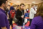 Evanston Township High School and community partners hosted the inaugural ETHS Career Options Night: Multiple Pathways to Success on Thursday, March 1. For students interested in professional careers that don't require a college degree. From apprenticeships and internships to local, non-degree work opportunities, students and their families learned about a wide range of valuable, high-paying career pathways. Career Options Night was open to the Evanston community, especially 9th-12th grade students and their parents or guardians. Alumni and former students were welcome, too.d [Photo by Karen Kring]