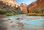 The Little Colorado River is a very popular stop for Grand Canyon boaters. <br />