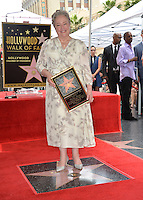 LOS ANGELES, CA. September 20, 2016: Kathy Bates at the Hollywood Walk of Fame star ceremony honoring actress Kathy Bates.<br /> Picture: Paul Smith / Featureflash