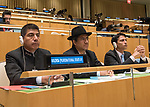 Opening of GA 72 2017 PM<br /> <br /> by His Excellency Evo Morales Ayma, Constitutional President of the Plurinational State of Bolivia <br /> <br /> Bolivia delegate