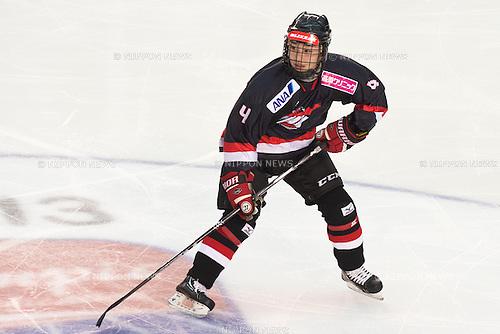 Ayaka Toko (JPN), FEBRUARY 8, 2013 - Ice Hockey : Women's Olympic Ice Hockey Qualification Tournament 2013, Group C, match between Japan 0-1 Slovakia at Ice Stadium, Poprad, Slovakia, (Photo by Enrico Calderoni/AFLO SPORT) [0391]