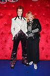 Romy Haag bei der Enthüllung der Wachsfigur von David Bowie als Ziggy Stardust bei Madame Tussauds. Berlin, 28.09.2017
