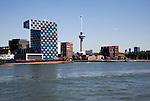 Euromast and STC Group building Delfshaven Port of Rotterdam, Netherlands