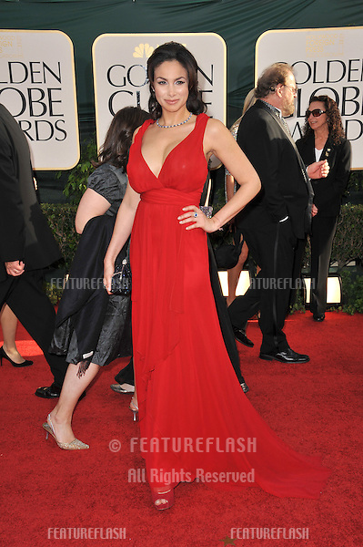 Patricia De Leon at the 68th Annual Golden Globe Awards at the Beverly Hilton Hotel..January 16, 2011  Beverly Hills, CA.Picture: Paul Smith / Featureflash