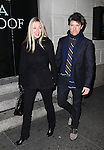 Hope Davis & Jon Patrick Walker attending the Broadway Opening Night Performance of 'Cat On A Hot Tin Roof' at the Richard Rodgers Theatre in New York City on 1/17/2013