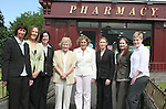 Ann-Marie Donnelly, Mairead Donnelly, Anne Marie Tuite, Mrs. Herlihy, Fiona Herlihy, Maureen Caslin, Ann McLoughlin and Karen Coyle outside Herlihy's Pharmacy. ..Photo NEWSFILE/Jenny Matthews.(Photo credit should read Jenny Matthews/NEWSFILE)....This Picture has been sent you under the condtions enclosed by:.Newsfile Ltd..The Studio,.Millmount Abbey,.Drogheda,.Co Meath..Ireland..Tel: +353(0)41-9871240.Fax: +353(0)41-9871260.GSM: +353(0)86-2500958.email: pictures@newsfile.ie.www.newsfile.ie.FTP: 193.120.102.198.