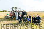 Front l-r JP Corridan, Kate Browne,  Derek Mccarthy, TJ McCarthy,  Michael Hare, Richard O'Mahony back l-r John Healy, Christy O'Mahony, Philip Healy, Michael O'Hanlon, Michael O'Hanrahan and Thomas Healy launch the Ballyheigue Ploughing Match on Sunday 30th October at 11.30