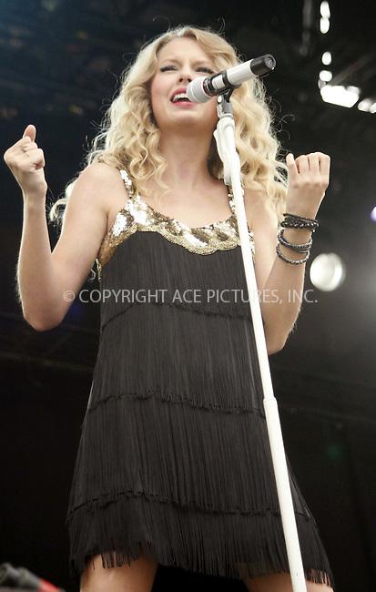 WWW.ACEPIXS.COM . . . . .  ..... . . . . US SALES ONLY . . . . .....August 23 2009, Staffordshire, England....Taylor Swift live at the V Festival in Staffordshire on August 23 2009 in Staffordshire, England....Please byline: FAMOUS-ACE PICTURES... . . . .  ....Ace Pictures, Inc:  ..tel: (212) 243 8787 or (646) 769 0430..e-mail: info@acepixs.com..web: http://www.acepixs.com