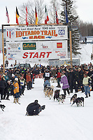Art Church, Jr Willow restart Iditarod 2008.