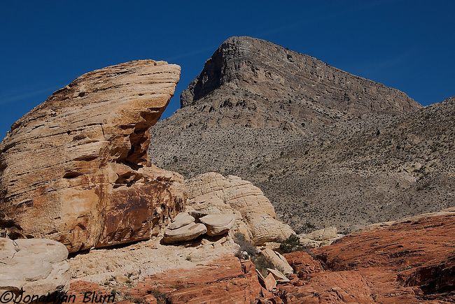 Rock and Mountain, Red Rock Canyon