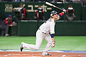Hayato Sakamoto (JPN), <br /> MARCH 14, 2017 - WBC : <br /> 2017 World Baseball Classic <br /> Second Round Pool E Game <br /> between Japan 8-5 Cuba <br /> at Tokyo Dome in Tokyo, Japan. <br /> (Photo by YUTAKA/AFLO SPORT)