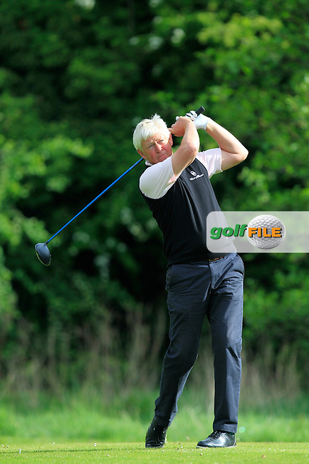 Douglas Cameron (ENG) on the 14th tee during Round 3 of the Irish Seniors Amateur Open Championship at Ardee Golf Club on Friday 20th May 2016.<br /> Picture:  Thos Caffrey / www.golffile.ie