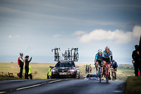U23 road race rolling over Greenhow Hill with it's beautiful, brutal backdrop<br /> <br /> from Doncaster to Harrogate (173km, race was shortened by 1 local lap)<br /> 2019 Road World Championships Yorkshire (GBR)<br /> <br /> ©kramon
