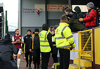 Burnley's Charlie Taylor leaves the pitch with an injury during the first half<br /> <br /> Photographer Rich Linley/CameraSport<br /> <br /> The Premier League - Burnley v Crystal Palace - Saturday 30th November 2019 - Turf Moor - Burnley<br /> <br /> World Copyright © 2019 CameraSport. All rights reserved. 43 Linden Ave. Countesthorpe. Leicester. England. LE8 5PG - Tel: +44 (0) 116 277 4147 - admin@camerasport.com - www.camerasport.com
