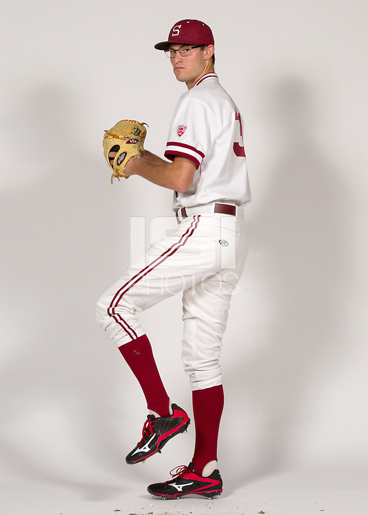STANFORD, CA - JANUARY 13, 2016--Tristan Beck  of the Stanford Men's Baseball team.