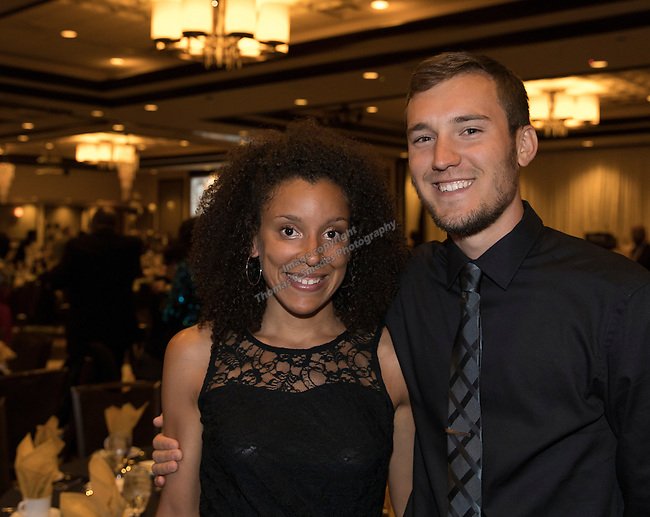 Tasha Vazquez and Dean Vetter during the 29th Annual Dr. Martin Luther King, Jr. Dinner Celebration at the Atlantis Casino Resort Spa in Reno, Monday night, Jan. 16, 2017.