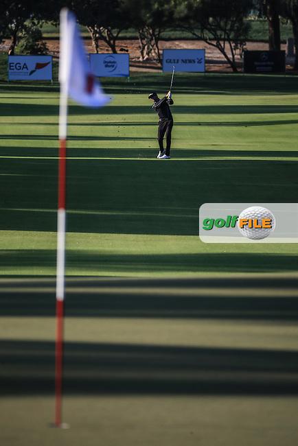 Gary Boyd (ENG) during Round Three of the 2016 Omega Dubai Desert Classic, played on the Emirates Golf Club, Dubai, United Arab Emirates.  06/02/2016. Picture: Golffile | David Lloyd<br /> <br /> All photos usage must carry mandatory copyright credit (&copy; Golffile | David Lloyd)