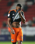 Sheffield United's Ethan Ebanks-Landell looks on dejected during the League One match at the Valley Stadium, London. Picture date: November 26th, 2016. Pic David Klein/Sportimage