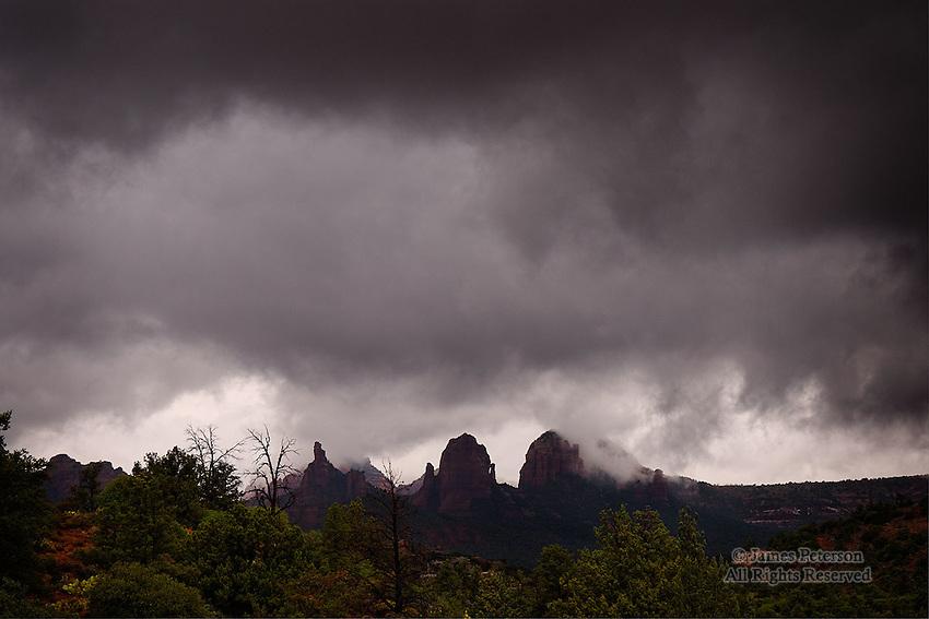 Storm Light #2, near Sedona, Arizona.  Available in sizes up to 30 x 45 inches.