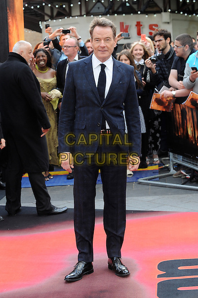 LONDON, ENGLAND - MAY 11: Bryan Cranston attends the European Premiere of Godzilla at the Odeon Leicester Square, on May 11, 2014 in London, England<br /> CAP/BEL<br /> &copy;Tom Belcher/Capital Pictures