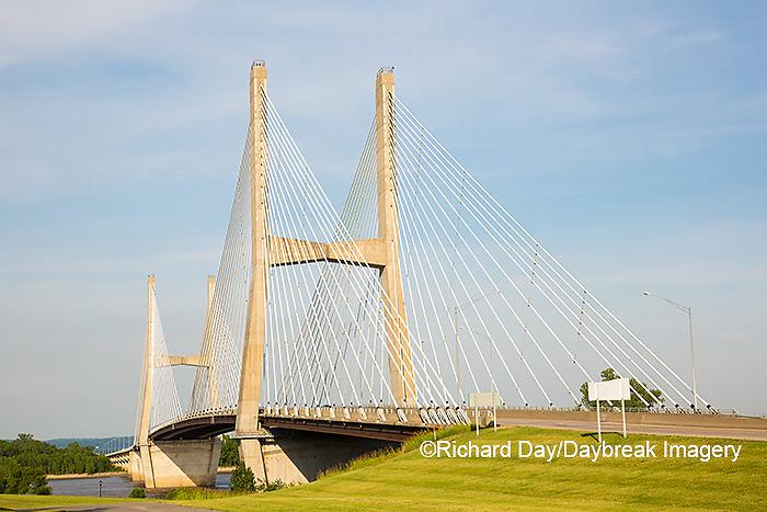 65095-02519 Bill Emerson Memorial Bridge over Mississippi River Cape Girardeau, MO