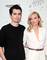 LOS ANGELES, CA - JULY 11: Damien Chazelle, Olivia Hamilton, at the premier of Don't Worry, He Won't Get Far On Foot on July 11, 2018 at The Arclight Hollywood in Los Angeles, California. Credit: Faye Sadou/MediaPunch