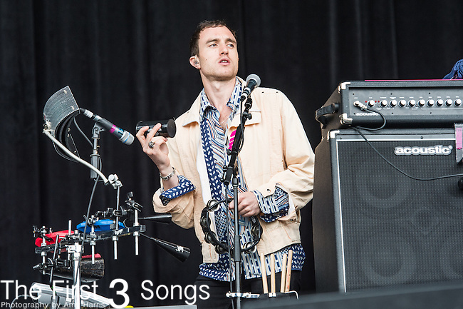 Dan Logan of The Kooks performs at the Outside Lands Music & Art Festival at Golden Gate Park in San Francisco, California.