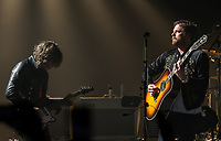LAS VEGAS, NV - October 6, 2017: ***HOUSE COVERAGE*** Kings Of Leon perform and donate net-proceeds to help victims of the Las Vegas Tradgedy at The Joint at Hard Rock Hotel &amp; Casino on October 6, 2017. <br /> CAP/MPI/EKP<br /> &copy;EKP/MPI/Capital Pictures