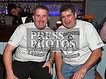 Alan Campbell and Ollie Carroll at the launch of St. Colmcilles Movember challenge in The LimeKiln Julianstown. Photo:Colin Bell/pressphotos.ie
