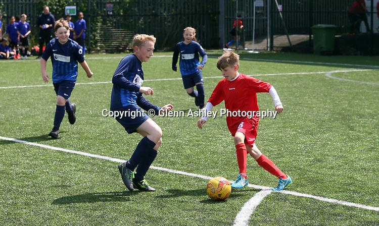 The Sheffield Trophy Schools UCL Tournament, Sheffield, United Kingdom, 22nd May 2019. Photo by Glenn Ashley.
