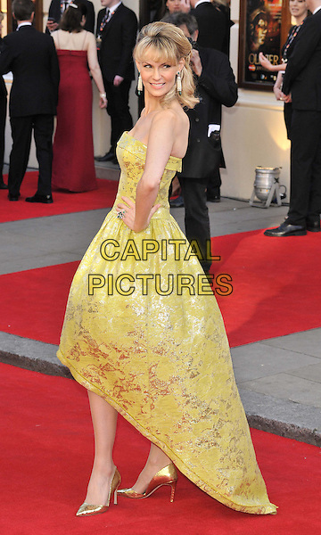 LONDON, ENGLAND - APRIL 13: Leigh Zimmerman attends the Olivier Awards 2014, Royal Opera House, Covent Garden, on Sunday April 13, 2014 in London, England, UK.<br /> CAP/CAN<br /> &copy;Can Nguyen/Capital Pictures