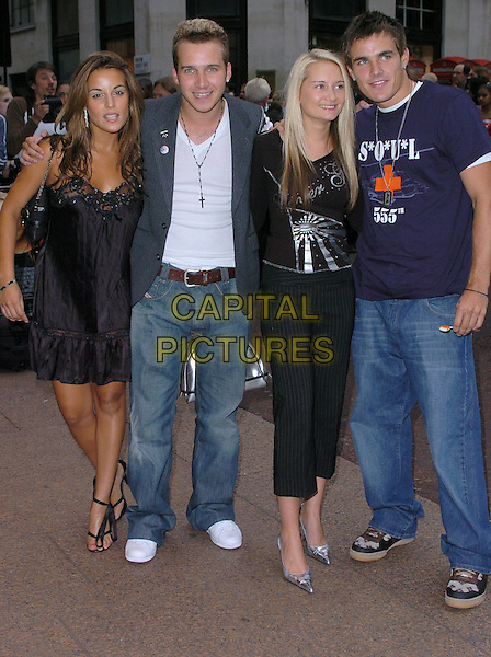 """POP.""""New York Minute"""" premiere at Odeon West End cinema, Leicester Square.London 27 July 2004.full length.www.capitalpictures.com.sales@capitalpictures.com.©Capital Pictures"""