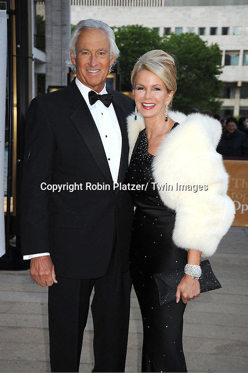 Blaine Trump and date attends the American Ballet Theatre's Spring Gala on May 13, 2013 at The Metropolitan Opera House in New York City.