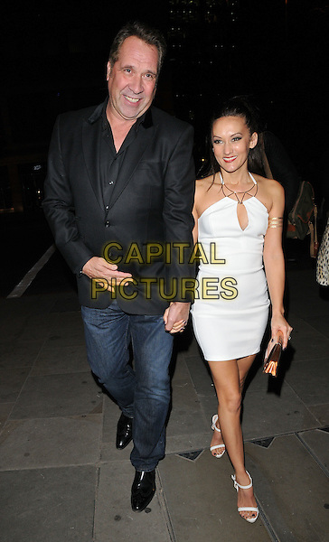 David Seaman &amp; Frankie Poultney attend the SUSHISAMBA 3rd anniversary party, Sushisamba, Heron Tower, Bishopsgate, London, England, UK, on Tuesday 10 November 2015. <br /> CAP/CAN<br /> &copy;Can Nguyen/Capital Pictures