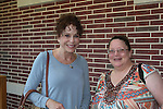 """Louise Sorel (Days of Our Lives & Santa Barbara) stars in """"I Remember Mama"""" on June 23, 2016 at Two River Theatre, Red Bank, New Jersey which follows a successful sold out run in New York City, New York and poses with Vikki Thompson. (Photo by Sue Coflin/Max Photos)"""
