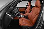 Front seat view of 2020 BMW X3 M-Competition 5 Door SUV Front Seat  car photos