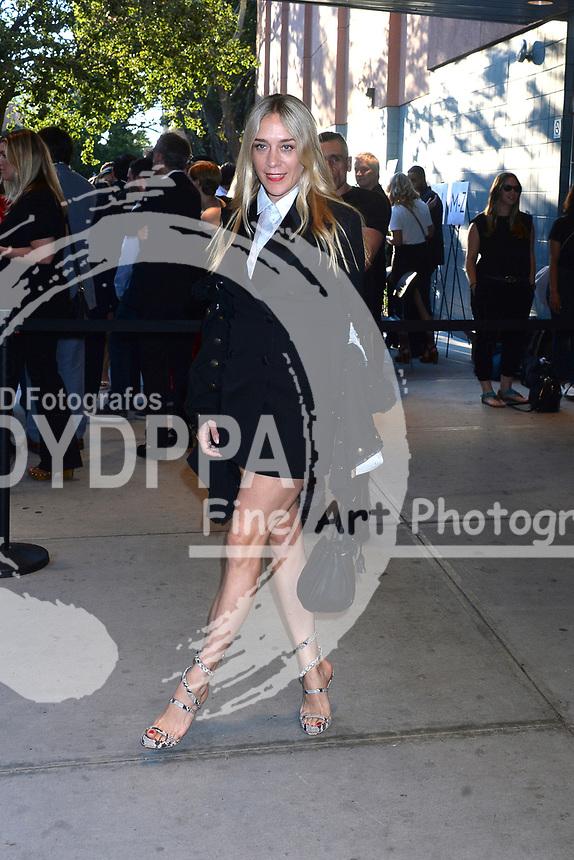 Chloe Sevigny bei der Premiere des Kinofilms 'Good Times' im SVA Theater. New York, 08.08.2017