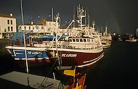 Europe/France/Pays de la Loire/85/Vendée/Ile d'Yeu/Port-Joinville: le port de pêche et ses thoniers