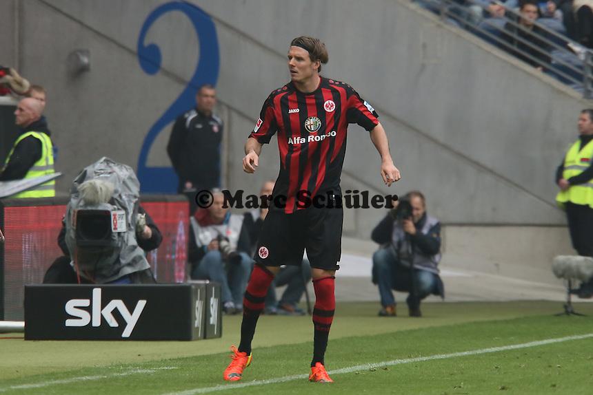 Alex Meier (Eintracht ) wird eingewechselt - Eintracht Frankfurt vs. 1. FSV Mainz 05