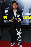 "HOLLYWOOD, CA - JANUARY 13: Lil P-Nut at the Los Angeles Premiere Of Universal Pictures' ""Ride Along"" held at the TCL Chinese Theatre on January 13, 2014 in Hollywood, California. (Photo by David Acosta/Celebrity Monitor)"