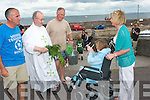 Mons.Padraig O Fiannachta celebrated the annual mass and blessing of the boats on the pier of Brandon to a large gathering last Sunday as part of Claghane/Brandon summer festival which was held over the weekend..