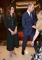 Duke of Cambridge and Duchess of Cambridge At Charity Performance
