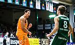 S&ouml;dert&auml;lje 2014-04-26 Basket SM-final S&ouml;dert&auml;lje Kings - Norrk&ouml;ping Dolphins :  <br /> Norrk&ouml;ping Dolphins Pierre Hampton  jublar efter att ha gjort po&auml;ng i matchen<br /> (Foto: Kenta J&ouml;nsson) Nyckelord:  S&ouml;dert&auml;lje Kings SBBK Norrk&ouml;ping Dolphins SM-final Final T&auml;ljehallen jubel gl&auml;dje lycka glad happy