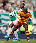 19.05.2018 Scottish Cup Final Celtic v Motherwell: Moussa Dembele and Cedric Kipre