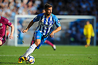 Markus Suttner of Brighton & Hove Albion (29)   during the EPL - Premier League match between Brighton and Hove Albion and Manchester City at the American Express Community Stadium, Brighton and Hove, England on 12 August 2017. Photo by Edward Thomas / PRiME Media Images.