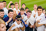 University of Portland soccer fans.